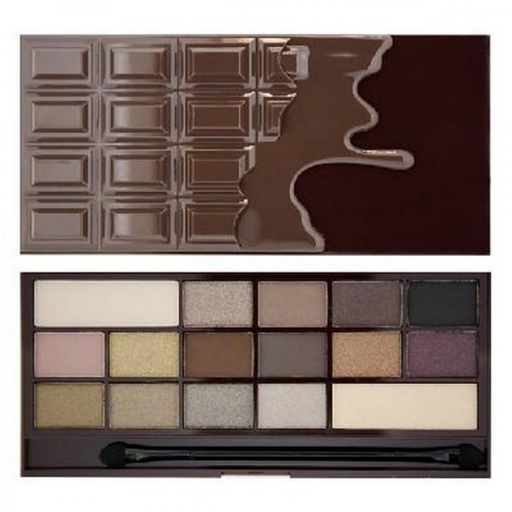 Makeup Revolution Death by Chocolate paleta 16 cieni